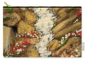 Spring Mountain Waterfall Carry-all Pouch