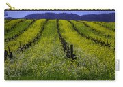 Spring Mustard Field Carry-all Pouch