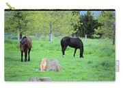 Spring Pastures Carry-all Pouch