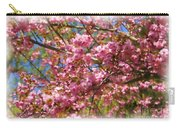 Spring Pink Blossoms Carry-all Pouch