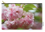 Spring Pink, Green And White Carry-all Pouch