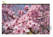 Spring Pink Tree Blossoms Art Print Baslee Troutman Carry-all Pouch