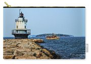 Spring Point Ladge Lighthouse - Maine Carry-all Pouch
