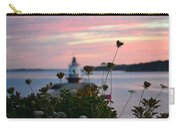Pink Sky Flowers Carry-all Pouch