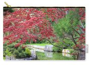 Spring Pond Reflection Carry-all Pouch