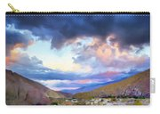 Spring Rain At Whitewater Canyon Carry-all Pouch