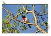 Spring Rose Breasted Grosbeak Carry-all Pouch