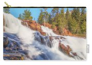 Spring Runoff At Glen Alpine Falls Carry-all Pouch