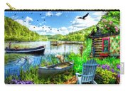 Spring Serenity At Lakeside Carry-all Pouch