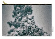 Spring Snowstorm On The Treetops Carry-all Pouch