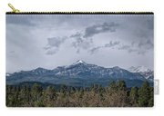 Spring Storm Behind Pagosa Peak Carry-all Pouch by Jason Coward