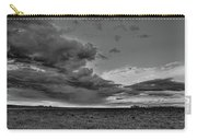 Spring Storm Front In Black And White Carry-all Pouch