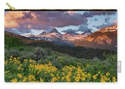 Spring Sunset In The Tetons Carry-all Pouch