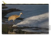 Spring Sunset With Sandhill Crane Carry-all Pouch