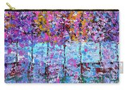 Spring Time In The Woods Abstract Oil Painting Carry-all Pouch