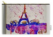 Spring Time. Paris. Eiffel Tower.  Carry-all Pouch