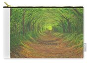 Spring Tree Tunnel Carry-all Pouch