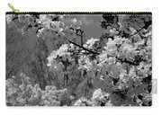 Spring Trees - B And W Carry-all Pouch