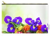 Spring Tulips And Irises Carry-all Pouch