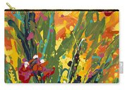 Spring Tulips Triptych Panel 1 Carry-all Pouch