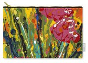 Spring Tulips Triptych Panel 2 Carry-all Pouch
