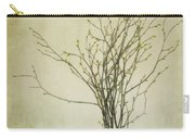 Spring Unfolds Carry-all Pouch by Priska Wettstein
