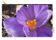 Spring Violet Carry-all Pouch