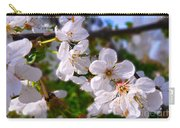Spring White Carry-all Pouch
