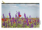 Spring Wild Flowers Meadow Carry-all Pouch