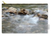 Spring With Rocks Nature Scene Carry-all Pouch