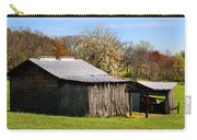 Spring Woods And Barn Carry-all Pouch