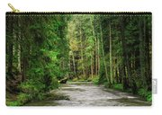Spring Woods Greenery Carry-all Pouch