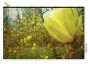 Spring. Yellow Magnolia Flower Carry-all Pouch