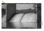 Springfield Lake Dam Grayscale Carry-all Pouch
