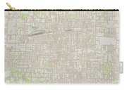 Springfield Missouri Us City Street Map Carry-all Pouch