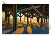 Springmaid Pier At Sunrise Carry-all Pouch