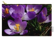 Springs First Flowers Carry-all Pouch