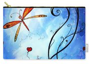 Springs Sweet Song Original Madart Painting Carry-all Pouch