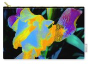 Springtime Abstract Iris Carry-all Pouch