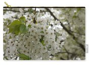 Springtime Abundance - Masses Of White Blossoms Carry-all Pouch