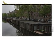 Springtime Amsterdam - Boathouses And Miniature Gardens Carry-all Pouch