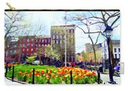 Springtime At Abingdon Square Park #2 Carry-all Pouch