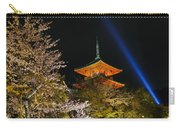 Springtime At Kiyomizu-dera Carry-all Pouch