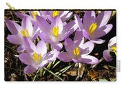 Springtime Crocuses  Carry-all Pouch