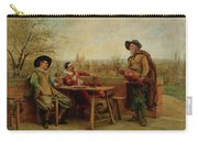 Springtime On The Terrace Carry-all Pouch