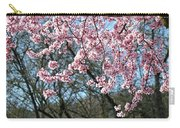 Springtime Seasonal Pink Blossom Flowers Baslee Carry-all Pouch