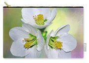 Springtime Triplets By Kaye Menner Carry-all Pouch