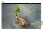 Sprouting Coconut Carry-all Pouch