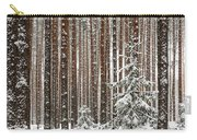 Spruce Among The Pines Carry-all Pouch