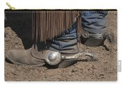 Spurs N' Rowels Carry-all Pouch by Sandra Bronstein